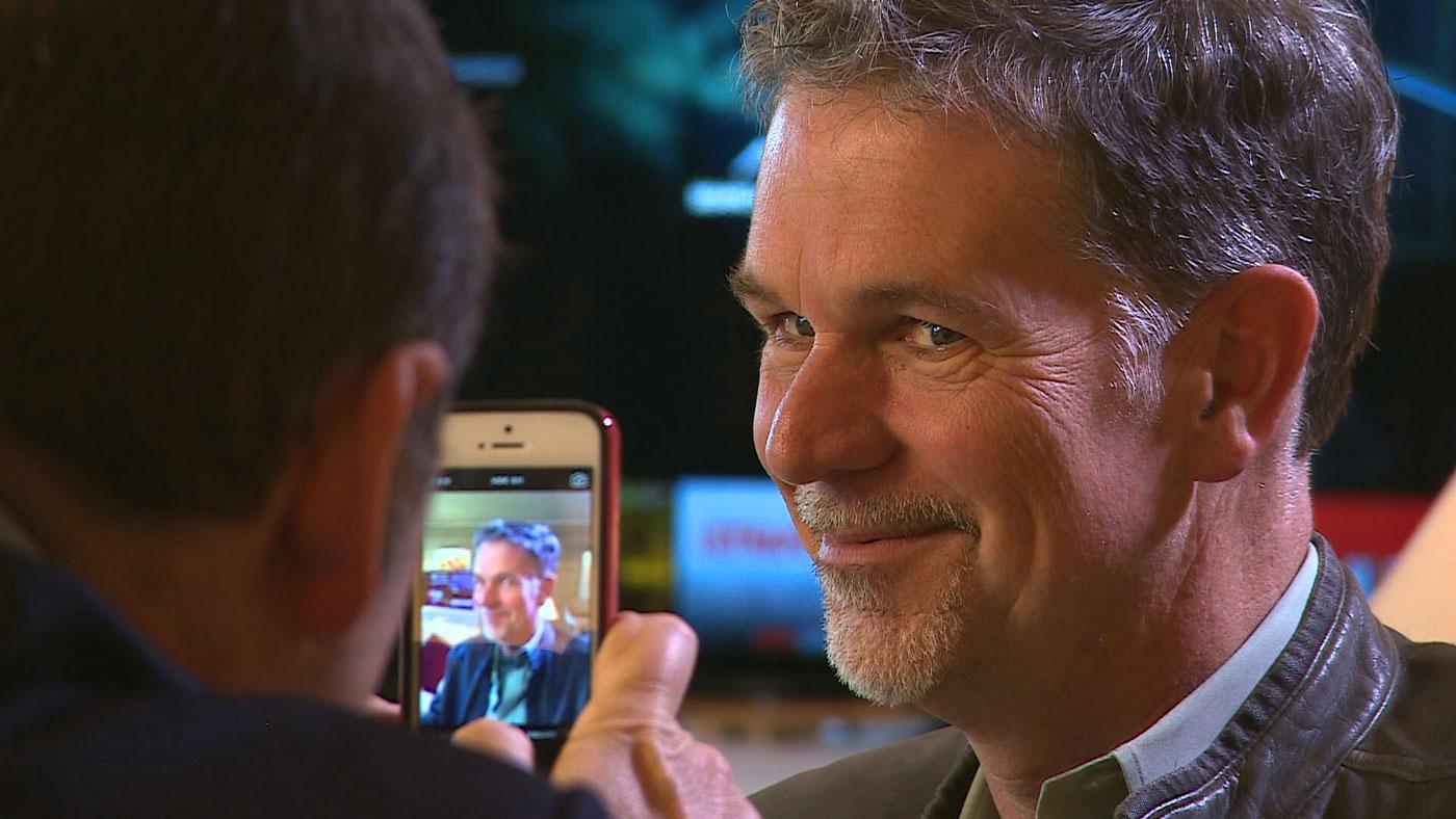 Reed Hastings, le fondateur de Netflix.