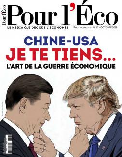 Chine-USA Je te tiens... L'art de la guerre économique